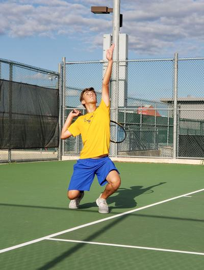 Tivy Tennis shines at tourney, falls to Heights