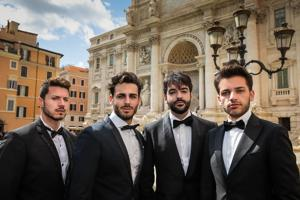 """Four Italian Tenors"" to appear at Cailloux Theater"