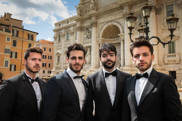 """""""Four Italian Tenors"""" to appear at Cailloux Theater"""