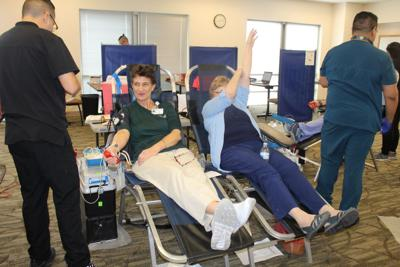 Area blood supply at risk of collapse due to concerns