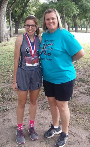 CP's lone runner advances to regionals