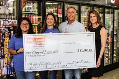 Mini Mart donates $12K for fireworks