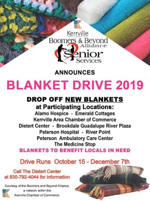 Boomers and  Beyond hosting 'Blanket Drive'