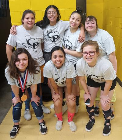 Seven Lady Pirates qualify for state powerlifting meet