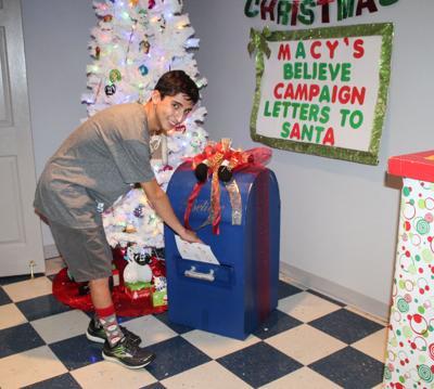 Tivy's Zack Reyna renews Santa letters campaign