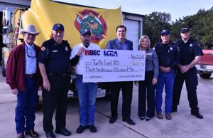 BEC donates $49K to fire departments