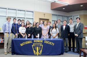 OLH inducts NHS members at ceremony