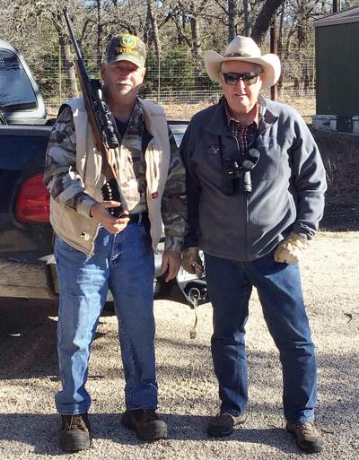 Rotarians honor veteran with deer hunting experience