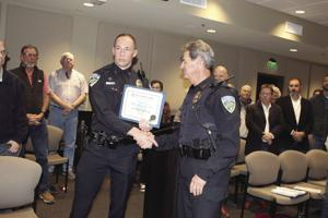 Council mulls  water issues, Ince named 'Officer of the Year'