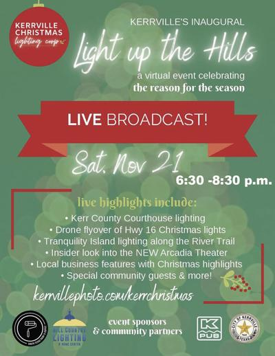 Tree lighting,  celebration to be broadcast Saturday