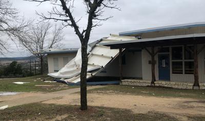 Storms damage bunkhouse at Texas Lions Camp