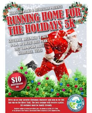 'Running home for the Holidays' set for Dec. 7