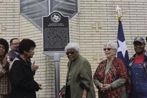 Barnett Chapel receives Texas historical marker