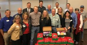 Rotarians donate toys, gifts to Samaritan's Purse