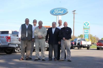 ken stoepel ford lincoln presented customer satisfaction award local news hccommunityjournal com
