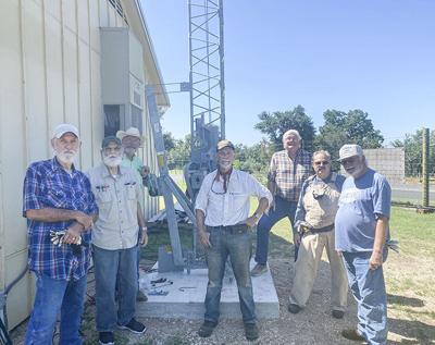 Local amateur radio club reaches for the sky