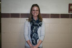 "<p>Melody West is a chemistry teacher at Tivy High School and was selected as this week's ""Teacher Feature.""</p>"
