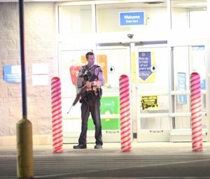 Walmart on lock down following reported shooting