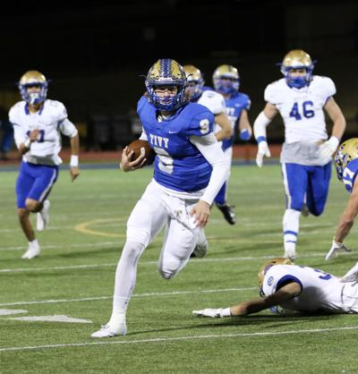 Pannell, McCoy team up for 99-yard TD pass in 56-14 win over Heights