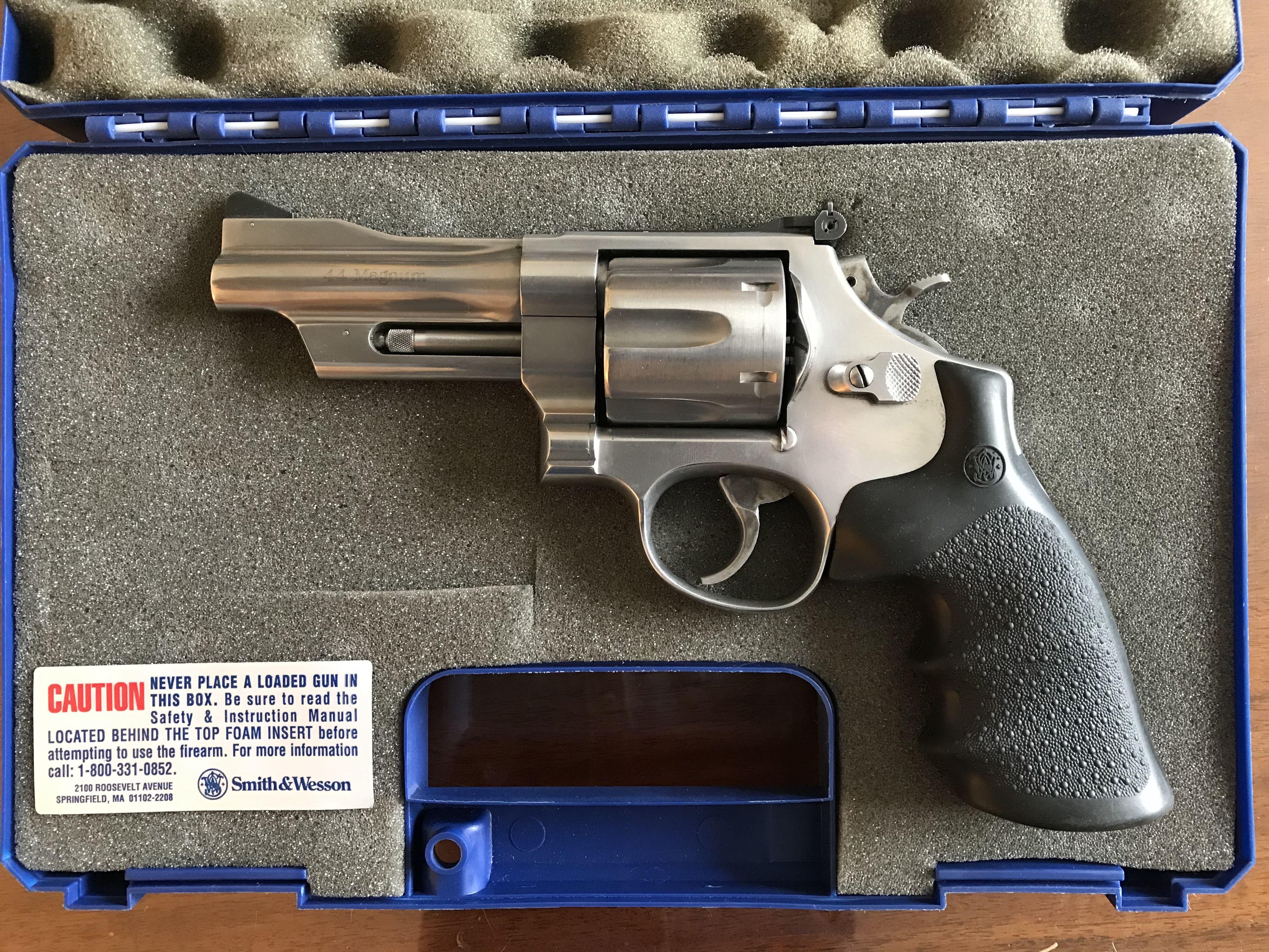 Smith & Wesson Model 629 Mountain Gun 44 Mag. image 1