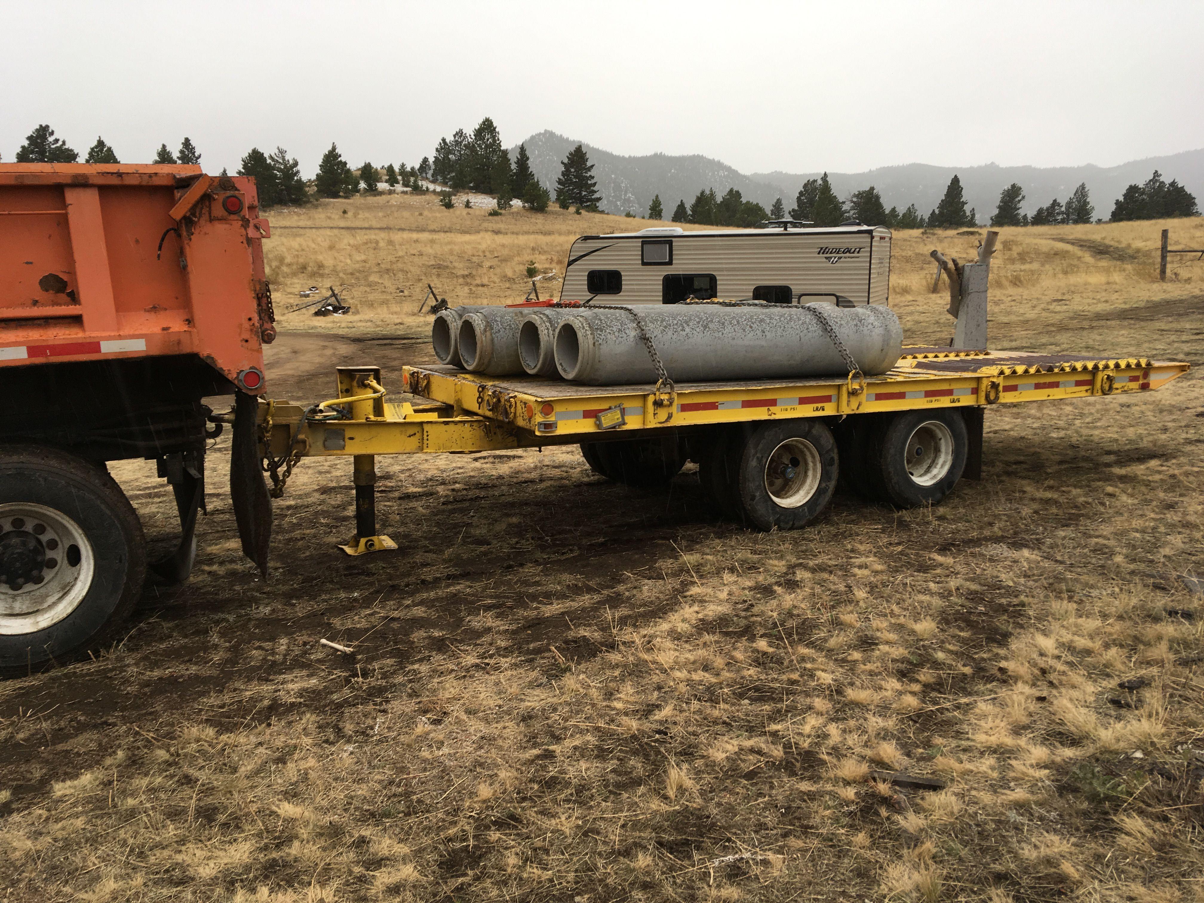 18 ton tilt deck equipment trailer image 1