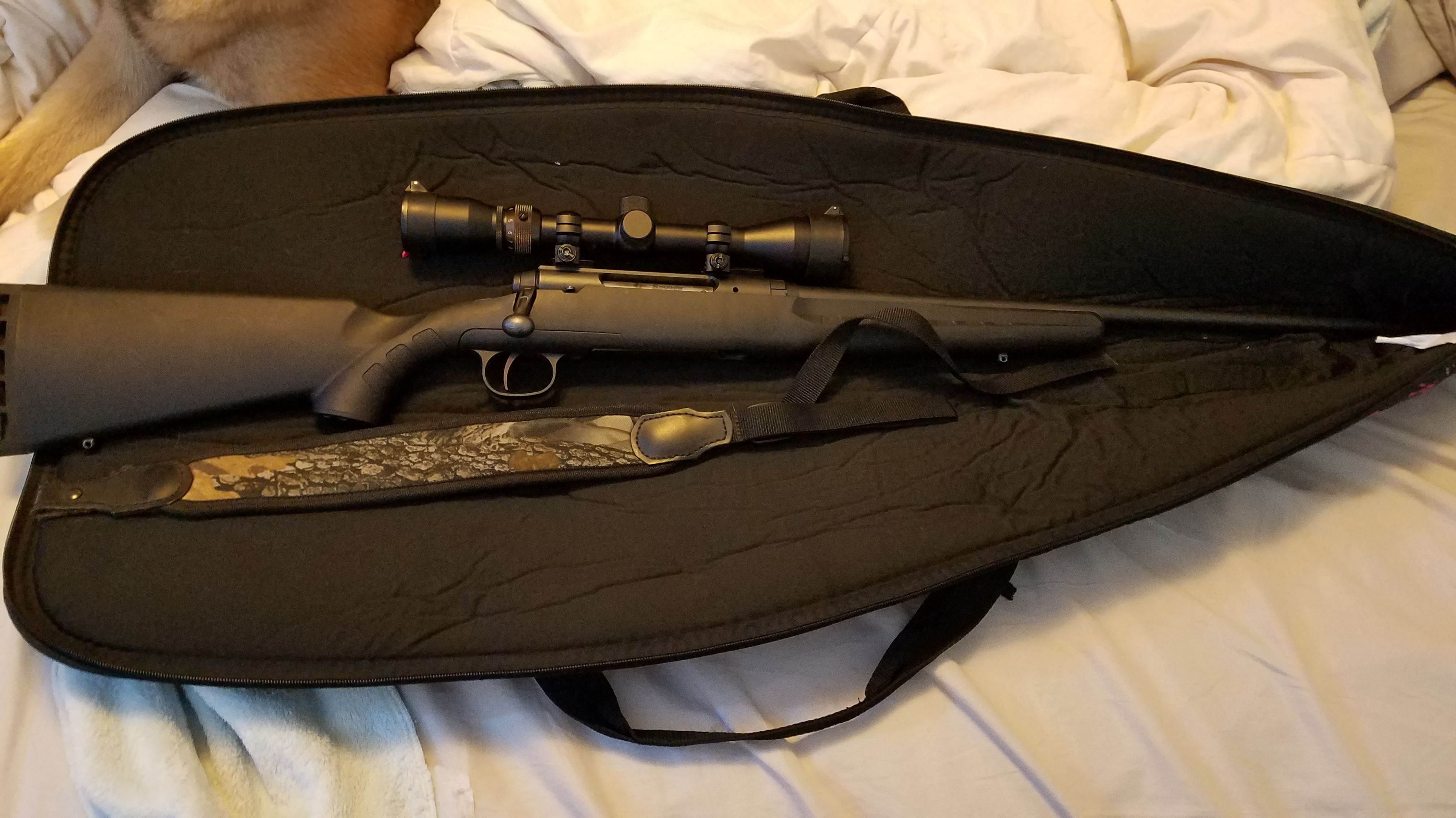 Lightly used 30-06 Savage Axis  rifle for sale image 1