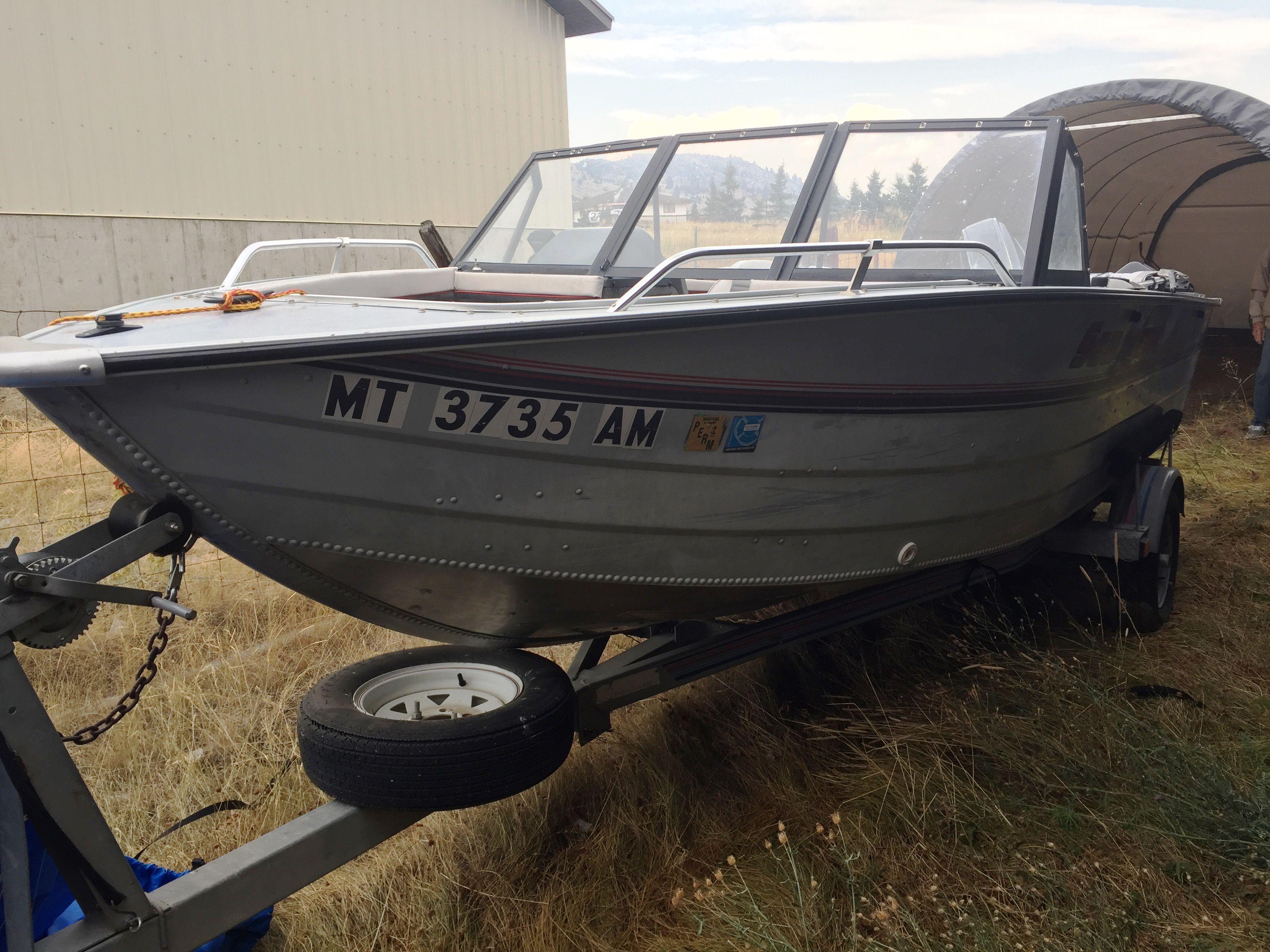 175 Sea Nymph Fish-N-Ski aluminum boat image 1
