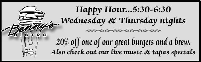 Happy Hour ad