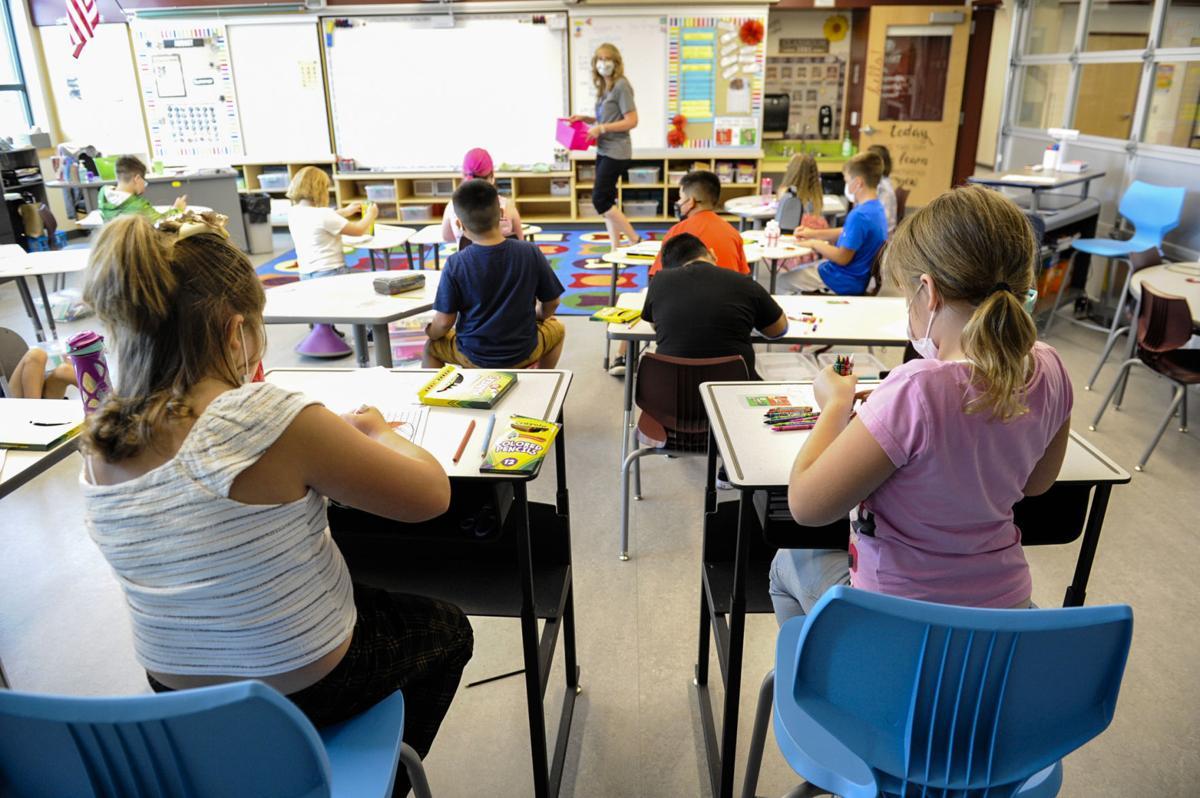 Photo: Helena students return to school