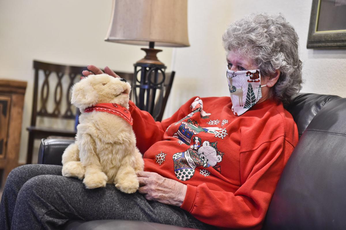 Margie Copenhaver, an 83-year-old resident of Eagle Manor