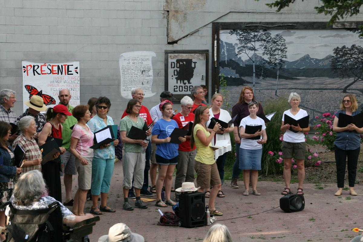 Helena Vigil to End Human Detention Camps