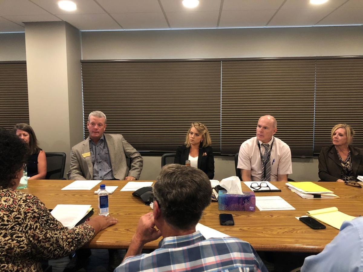 Glacier County meeting
