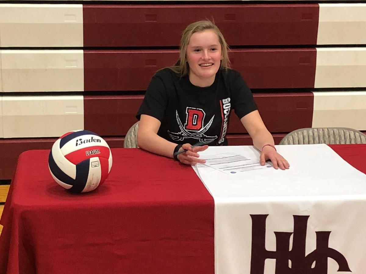 Helena High's Haydin Henschel signs with Dawson Community College for volleyball