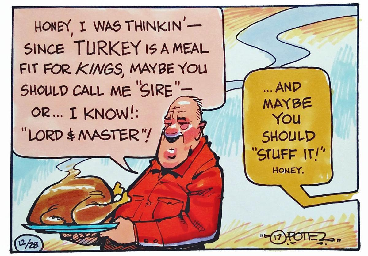 Turkey is fit for a king