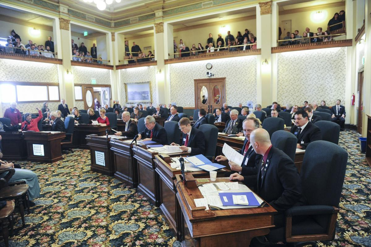 The Senate Of The 65th Montana Legislative Session
