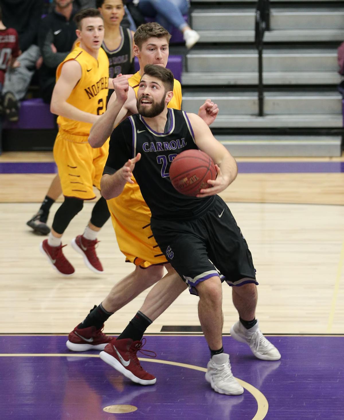 mens basketball; CC vs Northern