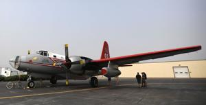 Neptune's P2V bombers come out of retirement for California fires