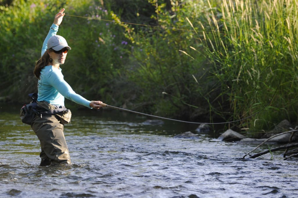 Women 39 s fly fishing festival is tuesday evening natural for Chicago fly fishing