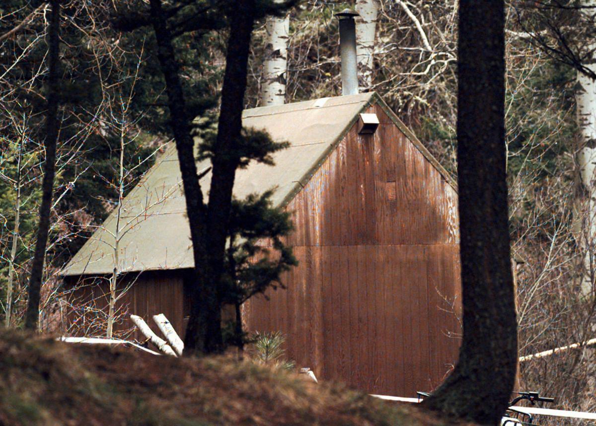 Ted Kaczynski's cabin