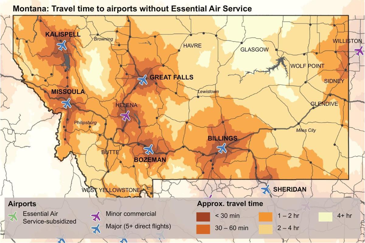 Non-EAS Airports