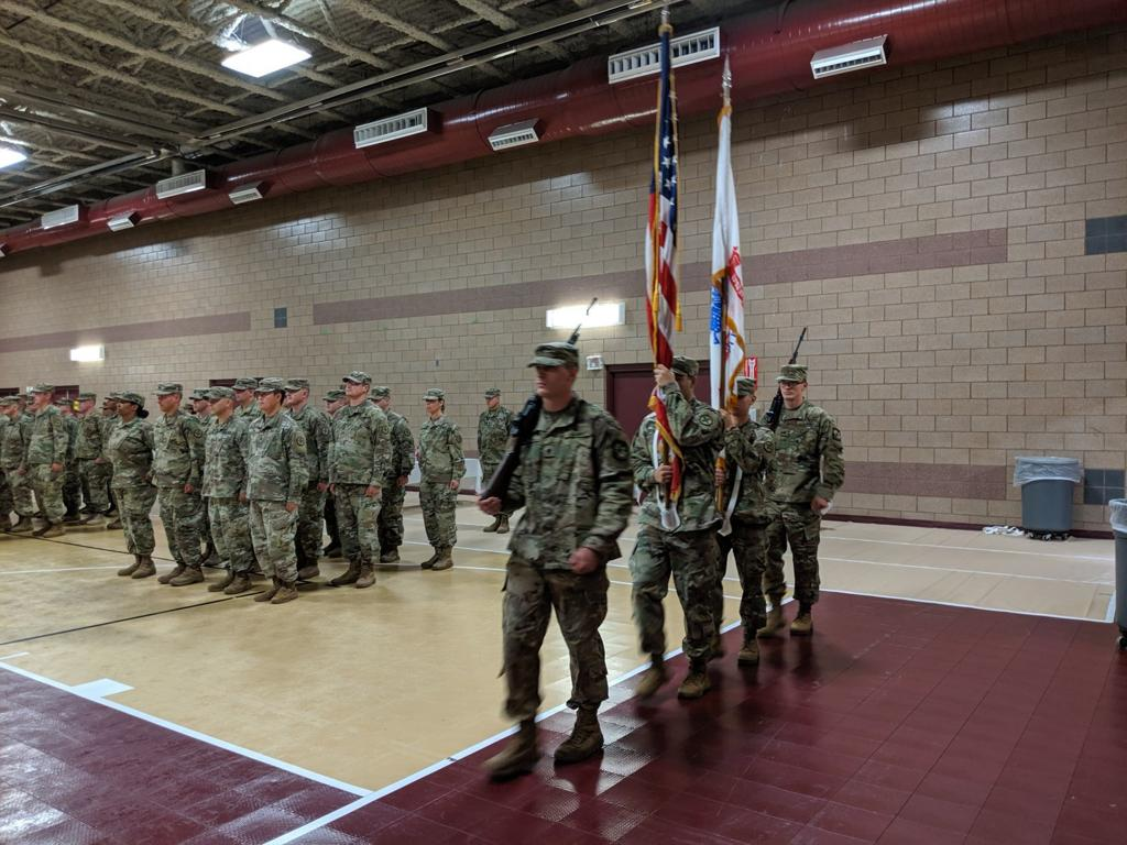 Helena-based Army battalion hosts farewell ceremony before
