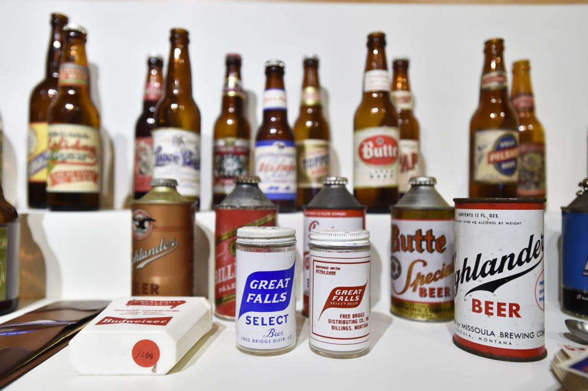 """The Montana Historical Society's """"Good Beer Here"""" exhibit showcases the history of beer in Montana."""
