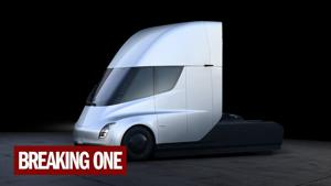 Meet the Tesla semi