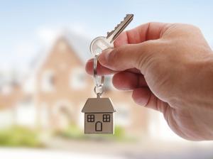 Giving house keys