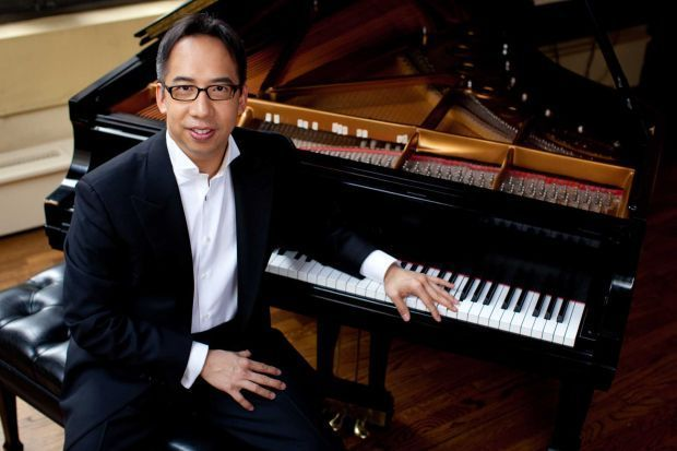 Rachmaninoff Playing Piano