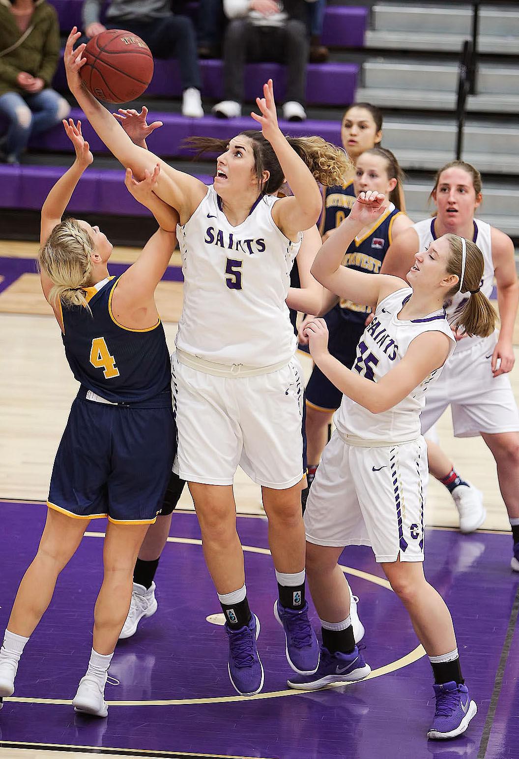 womens basketball; CC vs Northwest University