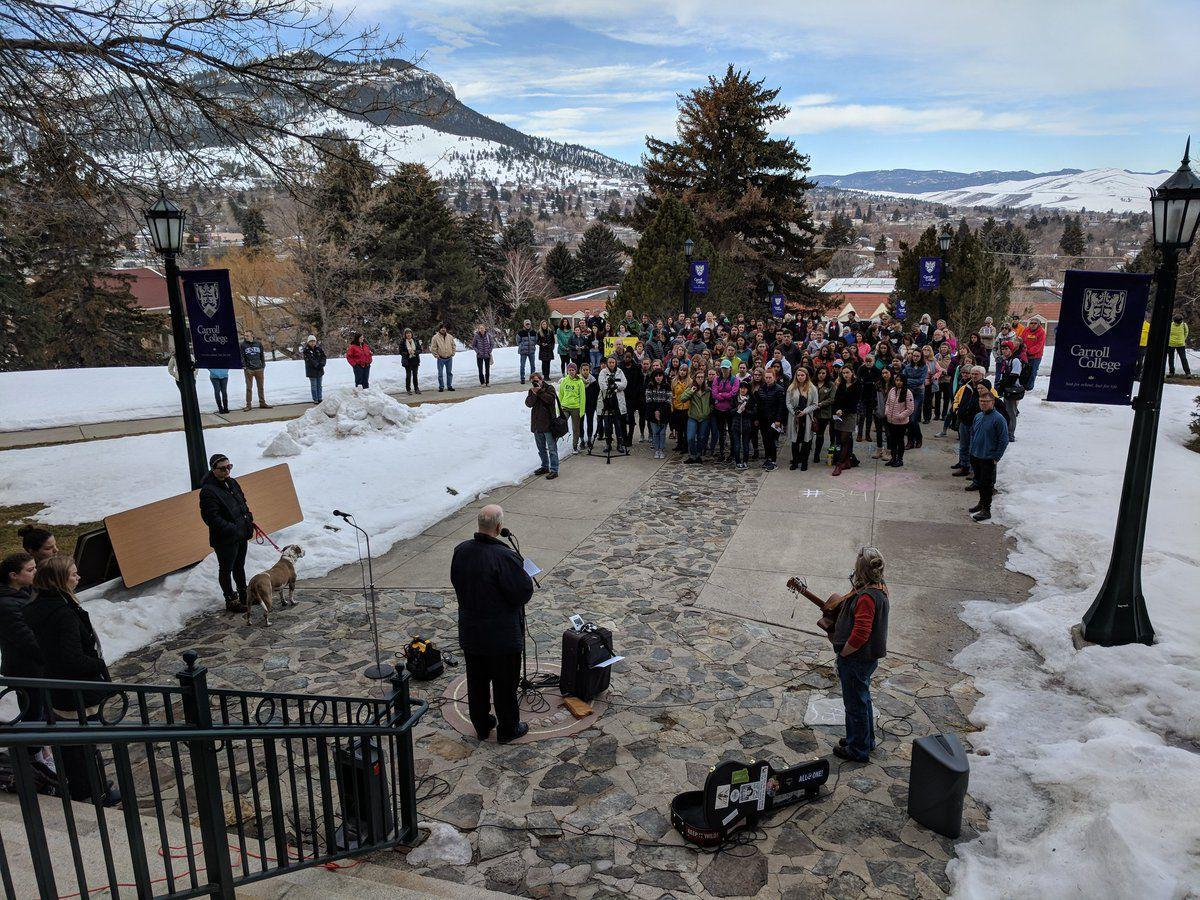 Walkout - Carroll College