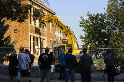 Central School demolition