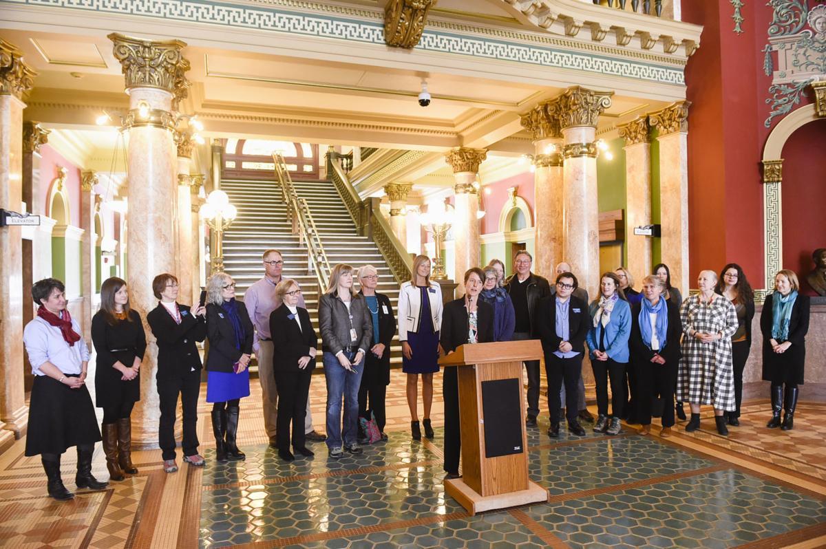 Democrats filing day press conference