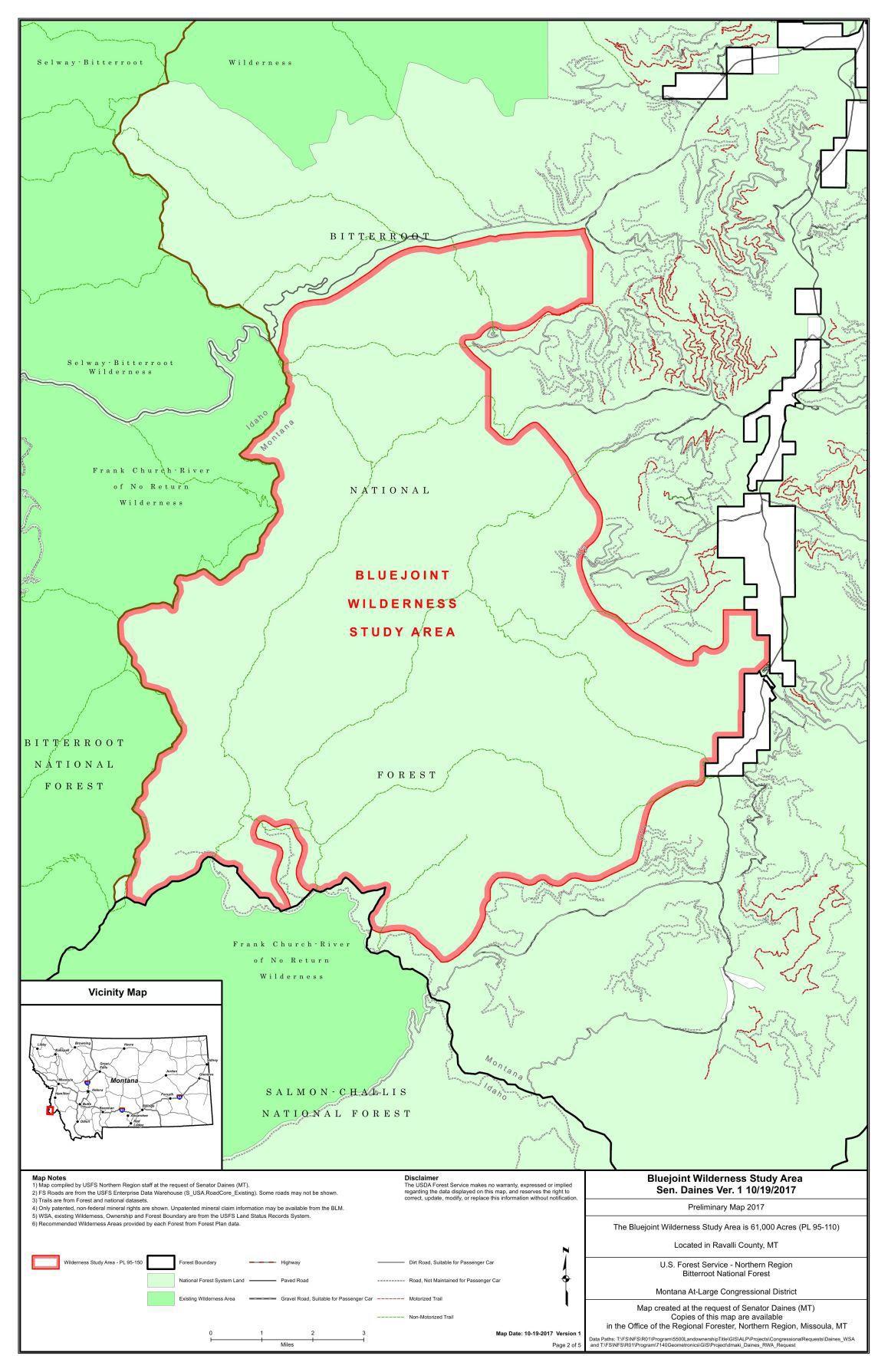 Bluejoint Wilderness Study Area